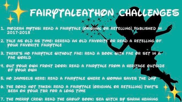 Fairytaleathon challenges