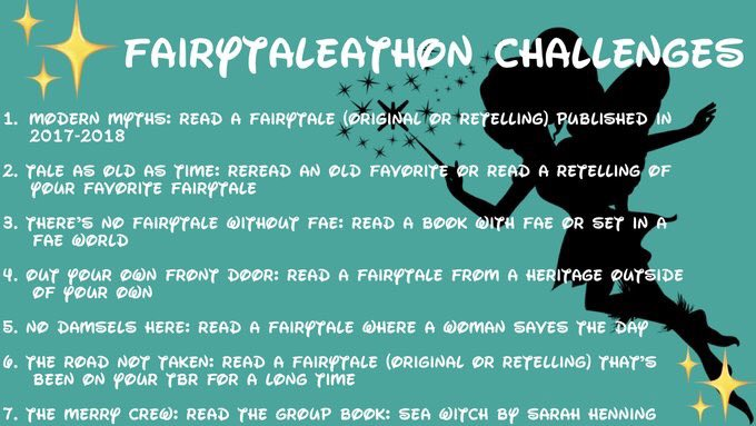 Fairytaleathon challenges