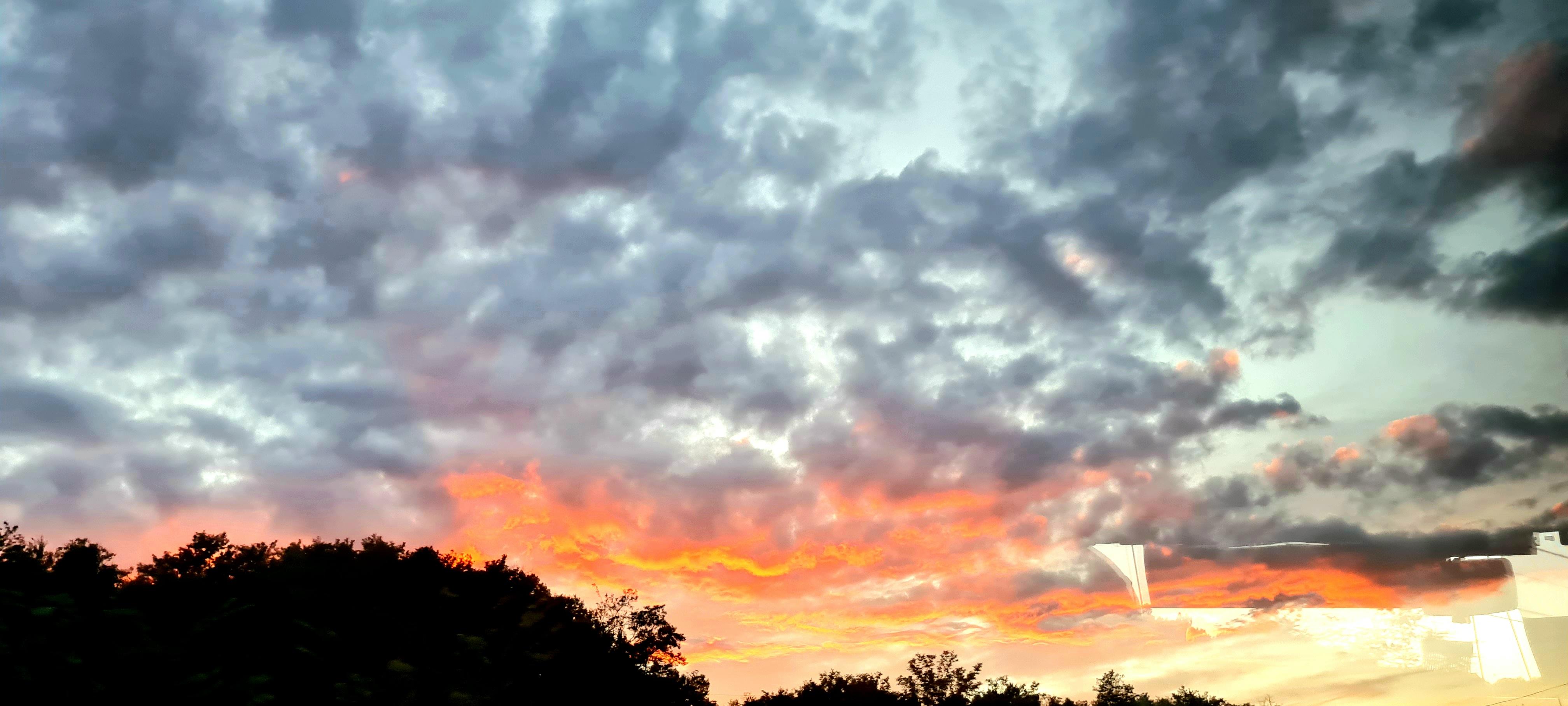 sunsetfromthebuss
